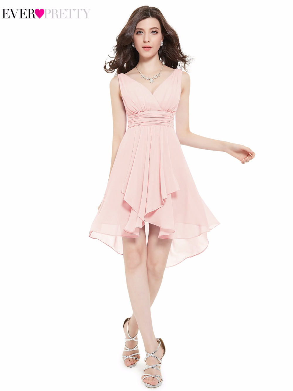 Online get cheap bridesmaid dress corall aliexpress alibaba clearance sale sexy bridesmaid dress ever pretty he03644 short a line v neck coral ombrellifo Choice Image