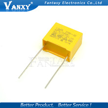 10pcs 1uF capacitor X2 capacitor 275VAC Pitch 15mm X2 Polypropylene film capacitor 1uF