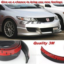For HONDA Civic / Car  Bumper Lips / Spoiler For Car Tuning / Body Kit Strip / Front Tapes / Body Chassis Side Protection