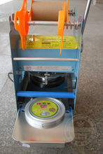 Plastic Cup Sealing Machine/Plastic Cup Sealer Machine/Plastic Cup Sealer
