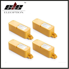Eleoption  4pcs 14.4V 3500mAh Ni-MH Vaccum Cleaner Battery For iRobot Roomba 400 series