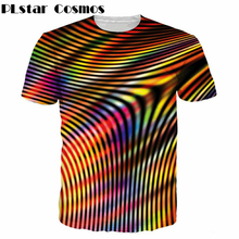 Buy PLstar Cosmos Brand clothing Vertigo Hypnotic Printing T Shirt Unisex Funny Short sleeve Tees Men/women Tops Men's 3D T-shirt for $9.30 in AliExpress store
