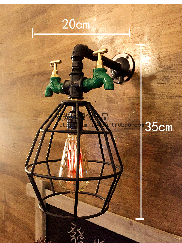 Edison Industrial Wall Lamp Fxitures With Faucet For Dinning Room Vintage Wall Sconce Stair Light Apliques Pared<br><br>Aliexpress