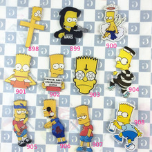 Cartoon Simpson Acrylic Brooch Pins Cartoon Brooches Women Men Jewelry Japan Harajuku Badges For Backpack Pin Female Accessories