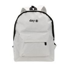 Day Night Embroidery Backpacks 2017 Fashion Women Canvas School Bags For Teenagers Girls Laptop Backpack Travel Bag Rucksack