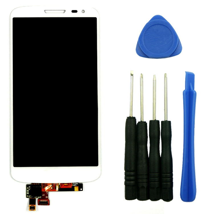 White LCD Touch Screen Digtizer  Assembly Replacement With Tools High Quality For LG G2 Mini D620 D618 D621 D625<br><br>Aliexpress