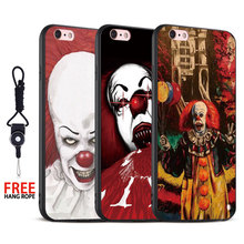 It 2017 film Stephen king s Hang Rope Soft Silicone Mobile Cell Phone Case Cover Shell bag For Apple iPhone 5 SE 5S 6 6S 7 Plus