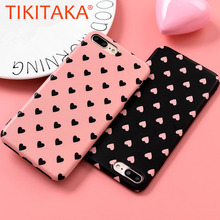 Buy Cute Love Heart Phone Cases iphone X 8 7 6 6s Plus Cover Fashion Ultra thin Hard PC Case Capa Cartoon Loving Hearts Shell for $1.27 in AliExpress store