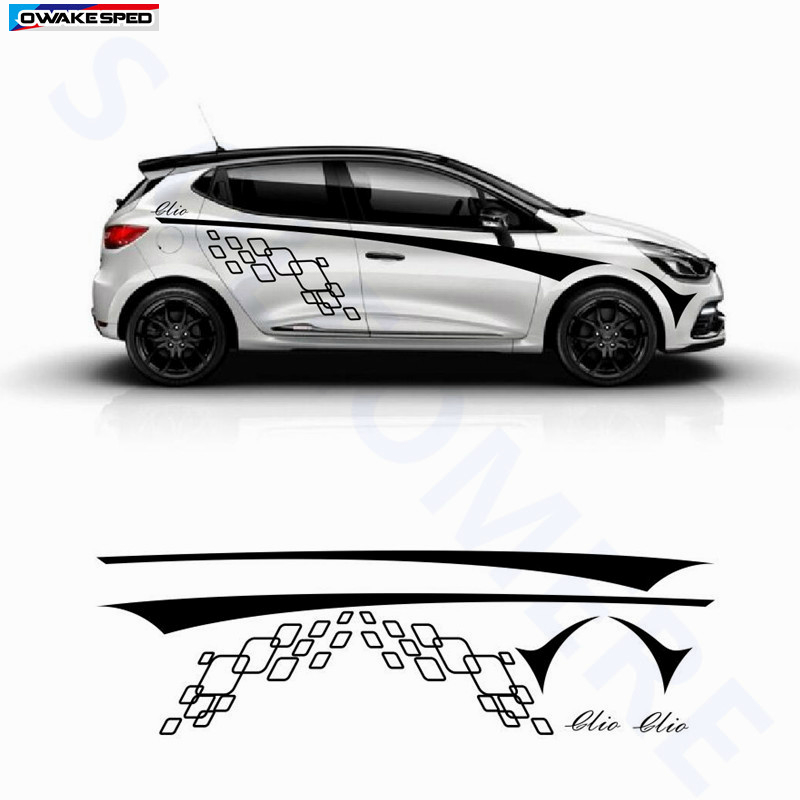 "3 Color 60/"" X 6/"" German Euro Italy Cars Racing Body Stripe Vinyl Decal Sticker"