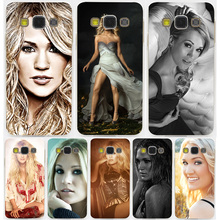 Carrie Underwood Hard Transparent Case for Galaxy S3 S4 S5 & Mini S6 S7 S8 Edge Plus