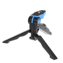 Mini Camera Tripod Portable Folding Table-top Tripod + Handheld Grip for Smartphones GoPro Hero 4 3+ 3 2 1 DSLR Camera Phone