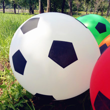 New 12inch Football balloons Children's toys Wholesale Round Balloon White Color Balloon Party Decoration Balloons for Baby Gife