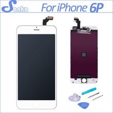 SANKA AAA For Apple iPhone 6PLUS LCD Display Touch Screen Front Glass Digitizer Assembly Mobile Phone Part Replacement Tools