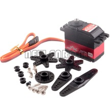 DQR JX PDI-HV5932MG 6-8.4V Large Torque Digital Coreless Servo 30KG RC Model Car RC123 Store(China)