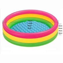 Fluorescent Trinuclear Inflatable Pool Baby Swimming Pool Piscina Portable Outdoor Children Basin Bathtub Infant 4 Size(China)