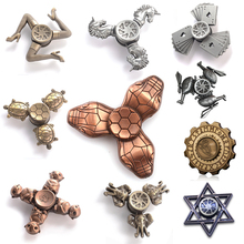 Buy Retro Fidget Spinner Finger EDC Hand Spinner Tri Kids Autism ADHD Anxiety Stress Relief Focus Handspinner Toys spinner hand for $5.99 in AliExpress store