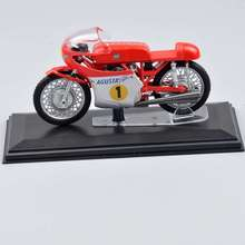 2016 New Hot Sale 1/22 MV AGUSTA 3cil. 500cc World Champion 1967 rider G. Agostini italeri Diecast Moto Model Toys For Gifts D