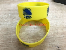 Free Shipping 50 pcs  Popular  Basketball Team Wristband Silicone Promotion Gift Filled In Color Bracelet  LQ-12