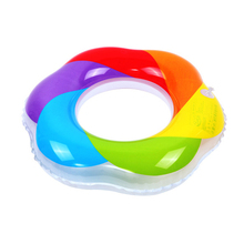 H781 Free shipping hot selling Swimming laps more adult men and women the rainbow life buoy Swimming laps wholesale
