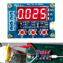 WQScosea Q8S-250 1.2v~12v Battery Capacity Meter Checker 18650 li-ion lithium lead-acid Discharge Monitor Tester Board(China)