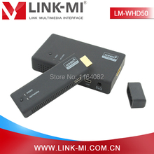LINK-MI LM-WHD50 50m WHDI Wireless HDMI Video Audio Transmitter Receiver System