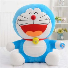 Doraemon Plush Toys 25cm Blue fatty Plush Toys Doll Gifts For Children Free Shipping