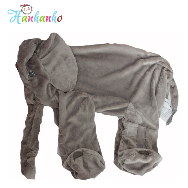 Wholesale Giant Elephant Plush Toy Skin Infant Stuffed Animal Doll Kids Sleeping Pillow Cover Soft Baby Toy<br><br>Aliexpress