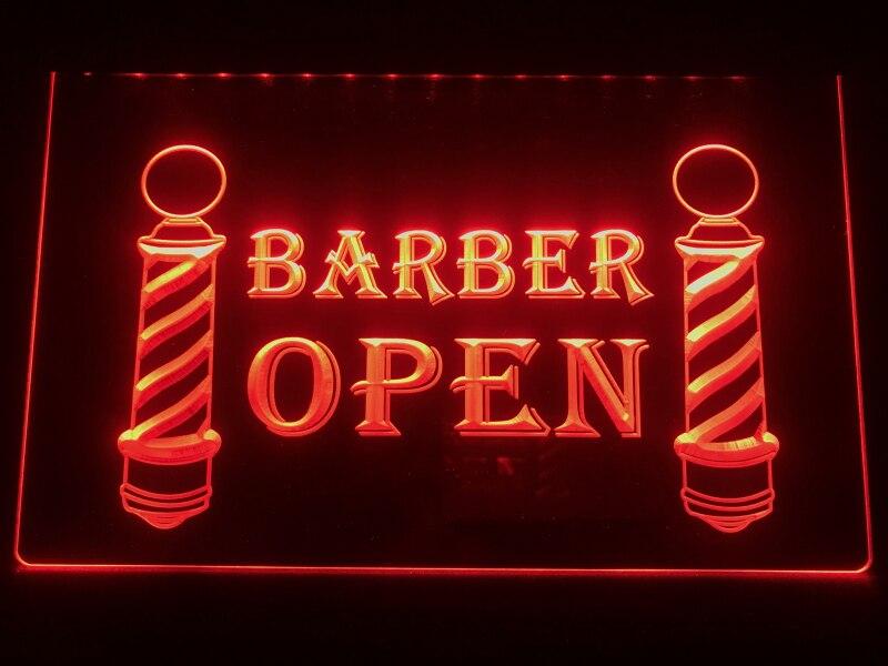 i044-b Barber Poles Display Hair Cut NEW Light Signs