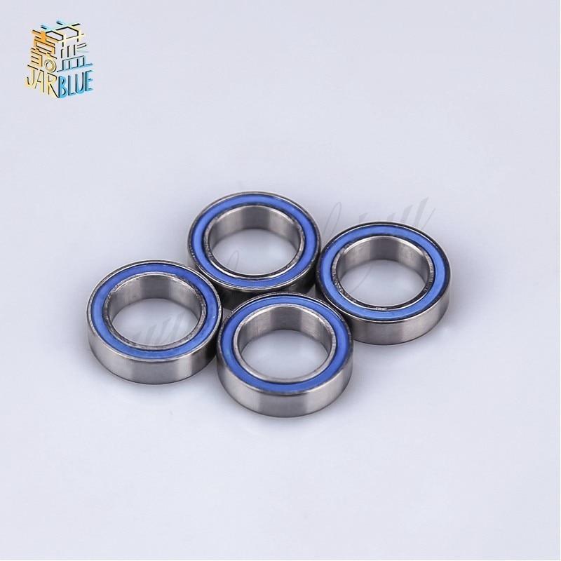 5 PCS Miniature Metal Bearing Flanged Ball Bearing F63800ZZ 10x19x7mm