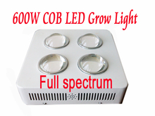 Full Spectrums  Big eyes 600W 4X150W COB LED grow Light 10 Spectrums IR Indoor Hydroponic System