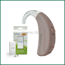 Gn Resound Match 2t70-V Digital BTE Hearing Aid Aids 3 CH Moderate Severe Loss Wireless Sound Amplifiers w Rechargeable Battery(China)