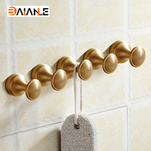 Bronze Finish Mini Robe Hook Wall Mounted Screwed Bathroom Shower and Bath Sponge Hooks Coat Hanger Hooks(China)