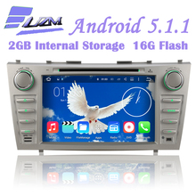 "8"" 16G Quad Core Car DVD Player Radio Tape Android 5.1.1 GPS Navi For Toyota Aurion Camry 2006 2007 2008 2009 2010 2011 3G WiFi"