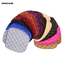 Buy KOKOLOLEE 3Pcs/Set Universal Soft Warm Car Seat Covers Seat Cushion Front Back Seat Chair Black Brown Car Pad Seat Protector for $38.49 in AliExpress store