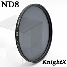 Buy KnightX Grad nd8 nd 49MM 52MM 55MM 58MM 62MM 67MM 72MM 77MM lens filter Sony Canon Nikon accessories digital camera 49 52 55 for $1.88 in AliExpress store