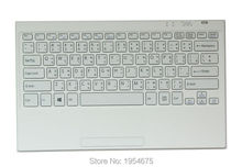 New Genuine for Sony Tap 11 SVT11 VGP-WKB16 11.6-inch Bluetooth wireless keyboard Thai version white Free shipping!!