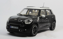 *1:18 Car Model Red Mini Cooper S Countryman Luxury Vehicle Hot Selling Simulation Model Cross Country Vehicle Off-road Vehicle