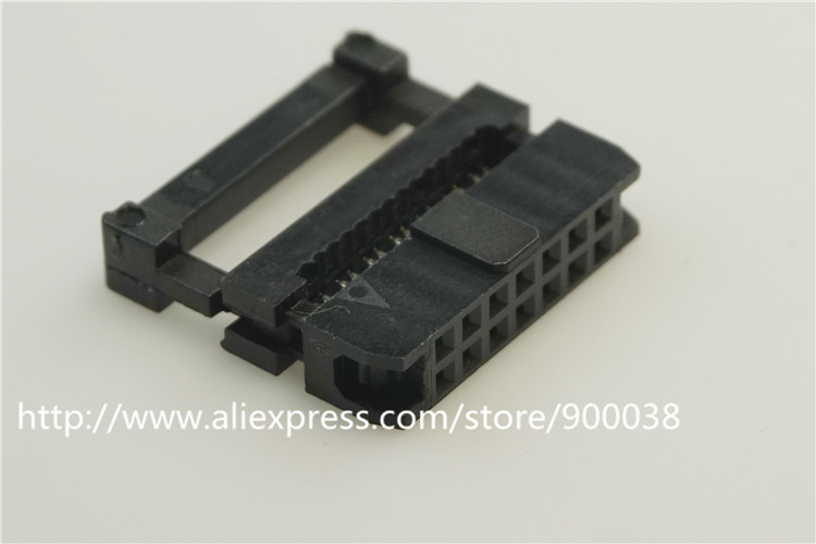 1 piece 0.079 14 Pin IDC Socket Flat cable Connector 2.0 mm Pitch 14 position Rectangular Female Socket Receptacle dual row<br><br>Aliexpress
