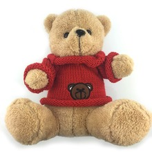 30CM Super Soft Teddy Bear Plush Toys Red Sweater Bear Toy Children Love Stuffed Dolls Best Price Very Good Quality NT085E