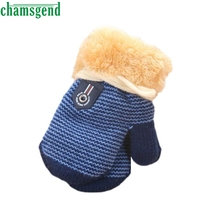CHAMSGEND 2017 Baby Mittens Children's Glove Winter Keep Warm Dress Gloves for Girls Boy Drop Shipping Feb22