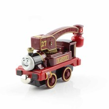 2016 Thomas and friends trains the tank engine railway metal magnetic crane truck die cast models toys play mini for kids Harvey