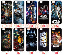 Star Wars Cover Case For iPhone 6 6S Plus 5 5S 5C 4S iPod Touch 6 5 4 For Samsung Galaxy S2 S3 S4 S5 Mini S6 S7 Edge 10pcs/lots
