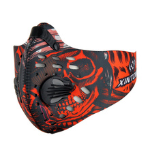 XINTOWN PM2.5 Cycling Mask Windproof Riding Breathable Carbon Filters Dust Smog Protective Neoprene Mask For Men and Women(China)