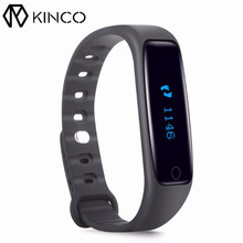 KINCO Bluetooth Smart Watch Health Fitness Tracker Sport Track Smart Bracelet Waterproof Sleep Monitor Wristband For IOS Android