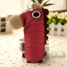 Animal Horse Pencil Case for School Boys Creative Girls Pencil Bag storage Pencil case Cute Kids Pen Pouch With Zipper OPC014