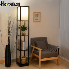 Wooden Floor Lamp Modern Minimalist Living Room Light 3 Colors Bedroom Bedside Lamp 160cm Height Standing Lamp For Living Room(China)