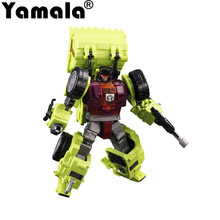 [Yamala] IN-STOCK Transformation Robot Ko Version Gt Scraper Of Devastator Right Thigh Action Figure Toys Outdoor Beach Toys(China)