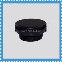 Black 30mm Mount Hole panel plugs  cap plastic for  push button switch