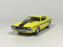 Green Light 1:64 1970 Dodge Challenger R/T boutique alloy car toys for children kids toys bulk freeshipping(China)