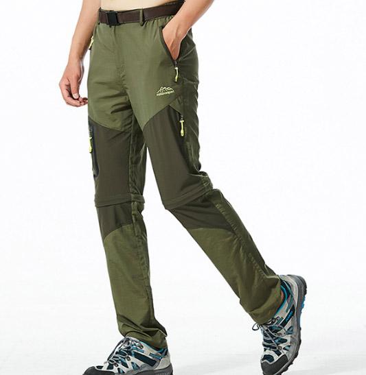 TH/&Meoostny Hommes P/êche Randonn/ée Vestes Camping Trekking Pantalons Voyage en Plein air Ensemble de Pantalons /à s/échage Rapide